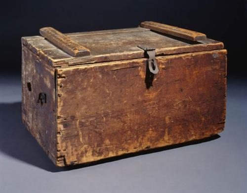 This box contained Pender's letters to his wife Fanny.  NC Museum of History accession # 2002.64.1