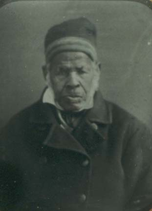 Ambrotype of Omar ibn Said, original in the collections of the Southern Historical Collection, UNC-Chapel Hill