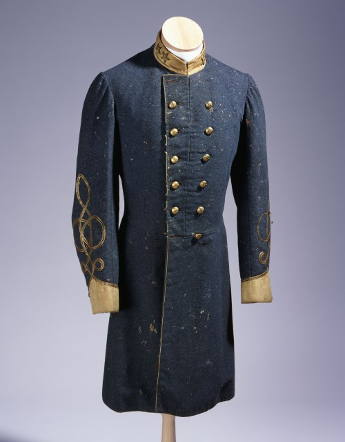 The Ruffin Frock Coat after conservation care. NC Museum of History.