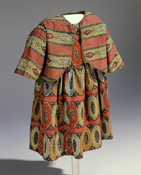 Child's Dress & Jacket. Source: Collections of the North Carolina Museum of History, accession number 19xx.110.1