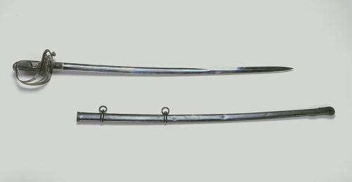 Maj. Gen. Robert F. Hoke's sword. Collections of the North Carolina Museum of History, Accession Number 1914.89.3