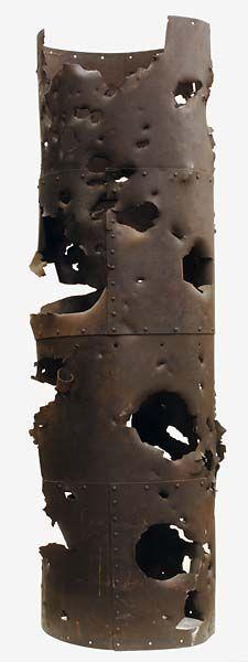 CSS Albemarle smokestack funnel, North Carolina Museum of History, 1914.266.1