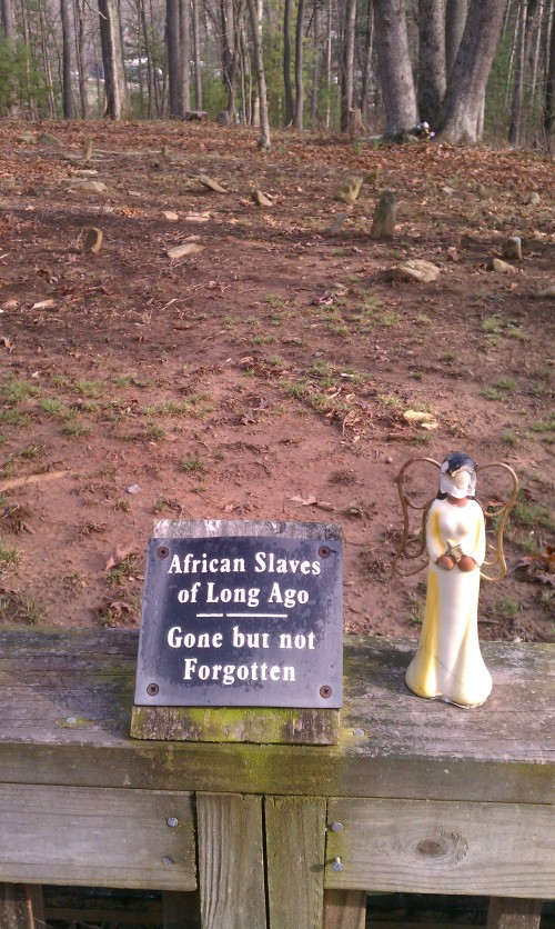 African American section, Henry family cemetery, Asheville, NC