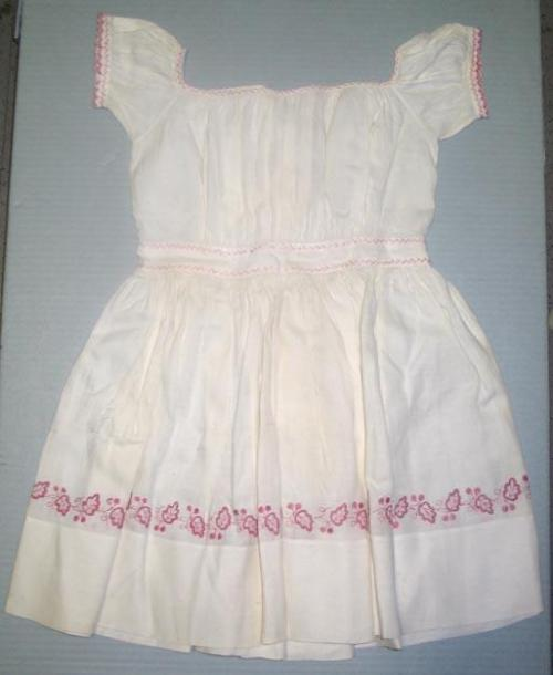 Child's Dress with embroidered detail. North Carolina Museum of History, Accession Number H.1964.2.2
